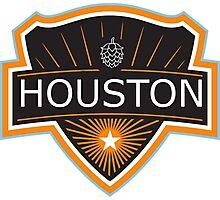 Houston Beer Logo Photographic Print