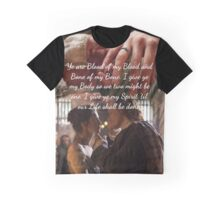 Outlander wedding Quote/Jamie & Claire Fraser/Diana Gabaldon Graphic T-Shirt