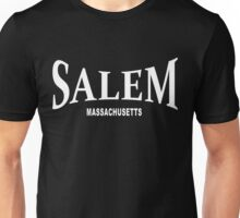 Salem Massachusetts - white Unisex T-Shirt