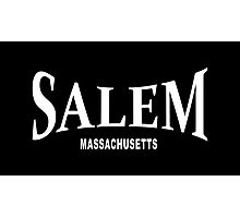 Salem Massachusetts - white Photographic Print