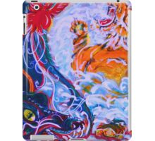 bold tiger dragon art iPad Case/Skin