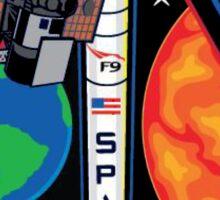 Deep Space Climate Observatory (DSCOVR) Launch Logo Sticker