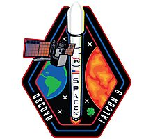 Deep Space Climate Observatory (DSCOVR) Launch Logo Photographic Print