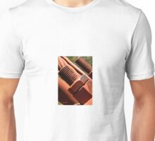 Industrial bolt on old bridge Unisex T-Shirt