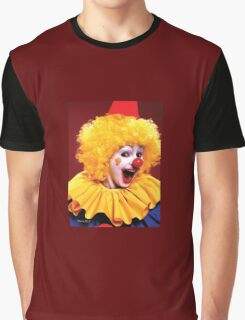 Head shot of yellow haired Clown smiling Graphic T-Shirt