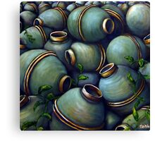 is this land mine Canvas Print