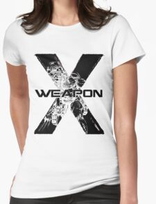 Wolverine • X-Men • Weapon X Womens Fitted T-Shirt