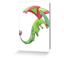 Flygon Greeting Card