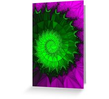 Spirals are beautiful Greeting Card