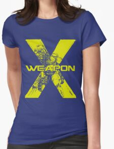 Weapon X •Wolverine Womens Fitted T-Shirt