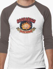 Rockabilly Beatdown (Fem Fist) Men's Baseball ¾ T-Shirt