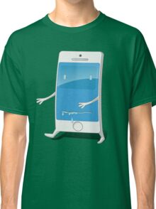Mobile Zombie Classic T-Shirt