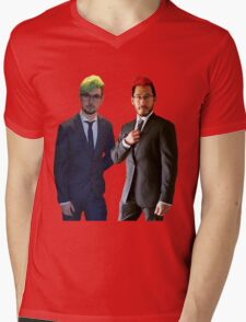 Septiplier wedding Mens V-Neck T-Shirt