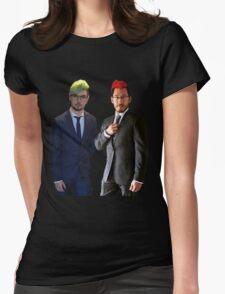 Septiplier wedding Womens Fitted T-Shirt