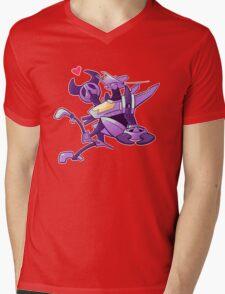 Heart Whirl Mens V-Neck T-Shirt