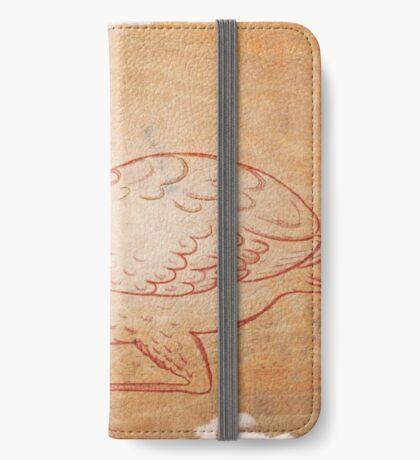 Vintage bird iPhone Wallet/Case/Skin