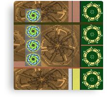 CROP CIRCLES FOR NANCY 1 Canvas Print