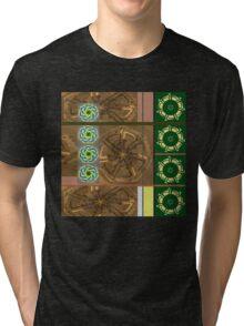 CROP CIRCLES FOR NANCY 1 Tri-blend T-Shirt