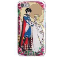 Sailor Moon Serenity and Endymion  iPhone Case/Skin