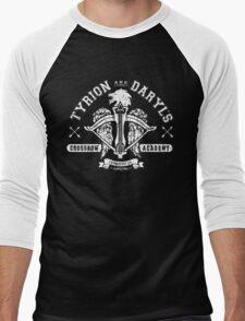 Walking Dead Thrones Mashup Men's Baseball ¾ T-Shirt