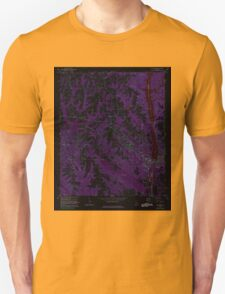 USGS TOPO Map Alabama AL Tallassee 305172 1971 24000 Inverted T-Shirt