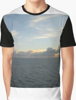 Sunsetting the Mood Graphic T-Shirt