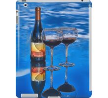 Bottle of Wine by Lena Owens iPad Case/Skin