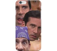 The Many Faces of Michael Gary Scott iPhone Case/Skin