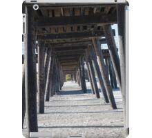 Pier Below iPad Case/Skin