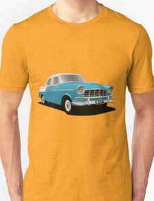 Holden FC Special Sedan - Royal Marine over India Ivory T-Shirt