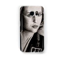 Dana Scully (Charcoal) Samsung Galaxy Case/Skin