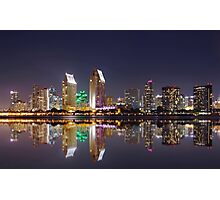 San Diego- Downtown view Photographic Print