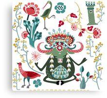 Bull Kharma Canvas Print