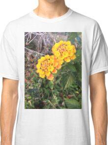 Golden Flowers Classic T-Shirt