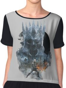the witcher the wild hunt Chiffon Top