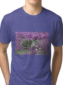 Space Kitty Tri-blend T-Shirt