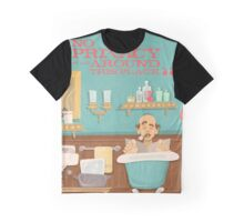 "Carousel of Progress - Uncle Orville - ""No Privacy!"" Graphic T-Shirt"