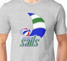 DEFUNCT - SAN DIEGO SAILS Unisex T-Shirt