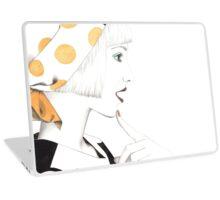 Vintage Girl Laptop Skin