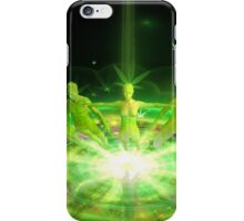 Green Dreams levitations iPhone Case/Skin