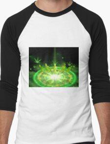 Green Dreams levitations Men's Baseball ¾ T-Shirt