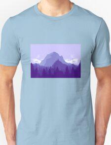 Purple Landscape Unisex T-Shirt