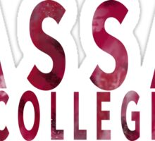 Vassar College Sticker
