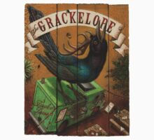 The Grackelope (color painting) Kids Tee