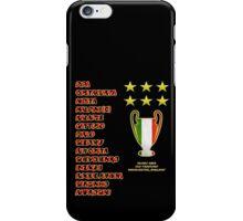 AC Milan 2003 Champions League Final Winners iPhone Case/Skin