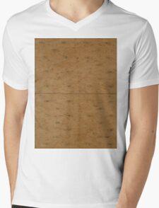 GRAHAM CRACKER (Textures) Mens V-Neck T-Shirt