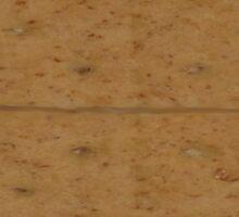 GRAHAM CRACKER (Textures) Sticker