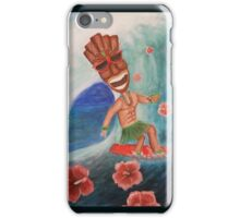 Tiki Surfer iPhone Case/Skin