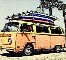 Surf Bus by Sharon Poulton