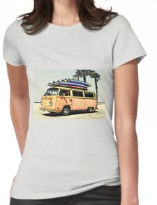 Surf Bus Womens Fitted T-Shirt